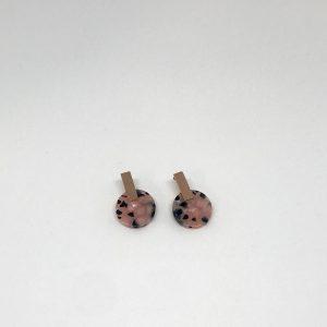 Boucles d'oreilles écailles