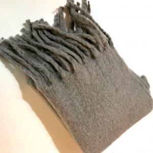 Echarpe grise